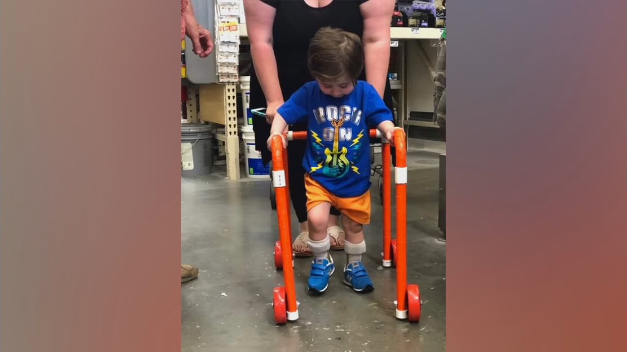 The Story Behind Viral Post Showing Home Depot Employees Building Walker For Boy Fox 46 Charlotte