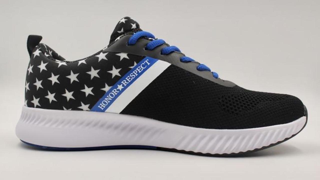 Air Force veteran touts new shoe to