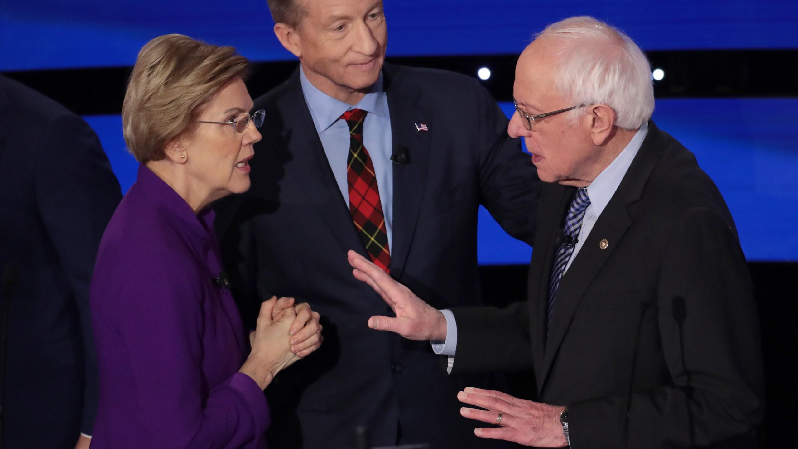 2020 Halloween Events Charlotte Iowa Audio released of post debate exchange between Warren, Sanders: 'I