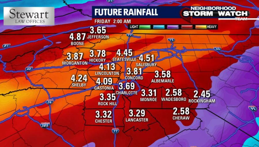 flooding damaging winds and isolated tornadoes possible across nc on thursday fox 46 charlotte fox 46 charlotte