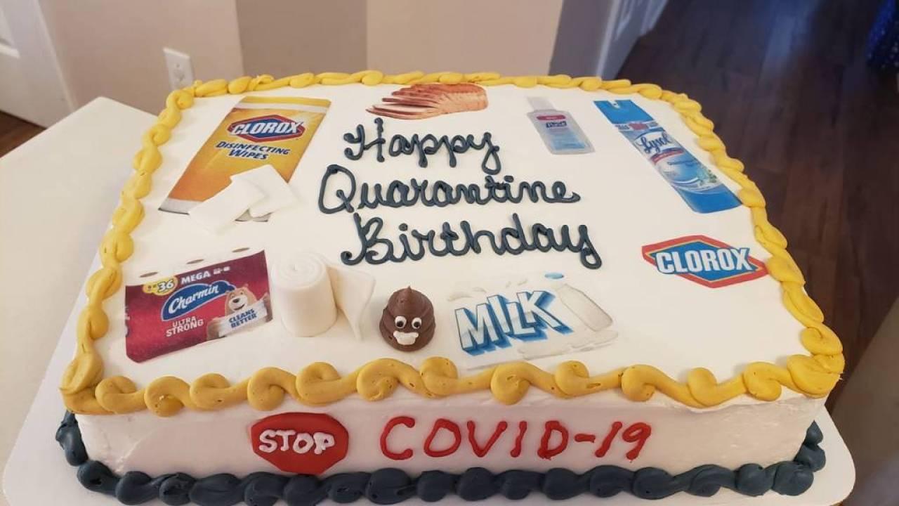 Groovy Local Baker Helps People Celebrate Birthdays Amid Coronavirus Personalised Birthday Cards Cominlily Jamesorg