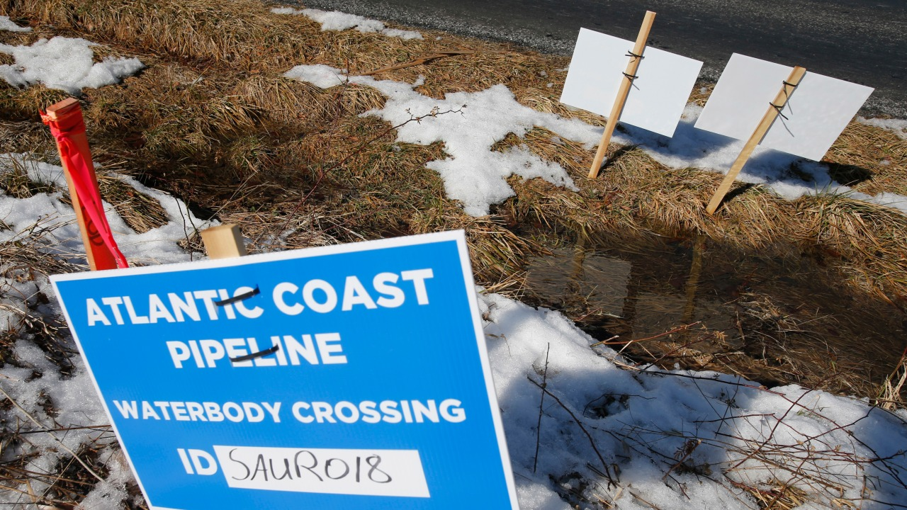 RALEIGH, N.C. (WNCN/AP) — Two large energy companies Sunday announced the cancellation of a natural gas pipeline known as the Atlantic Coast Pipelin