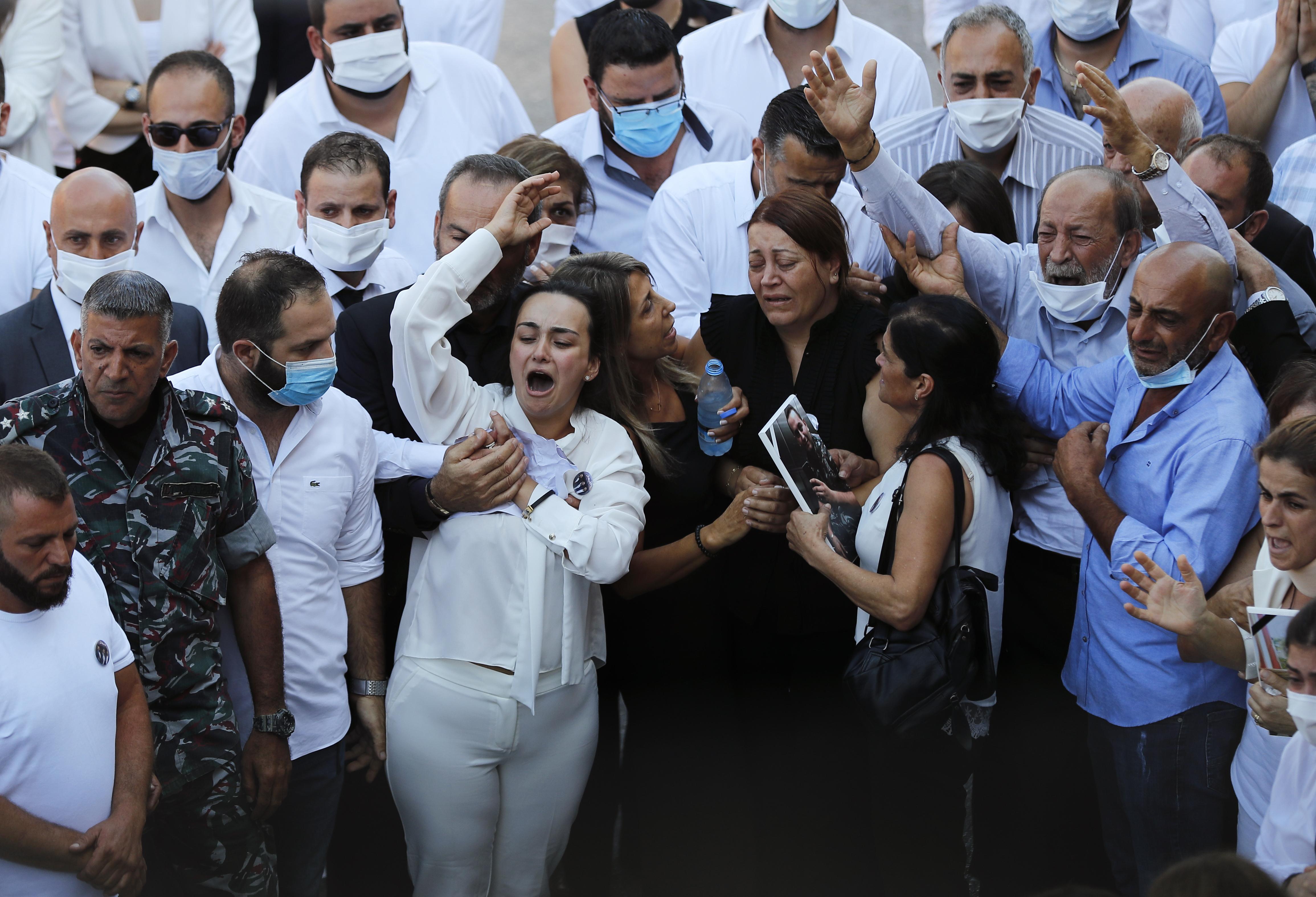Sharp Rise In Virus Cases In Lebanon After Deadly Port Blast Fox 46 Charlotte