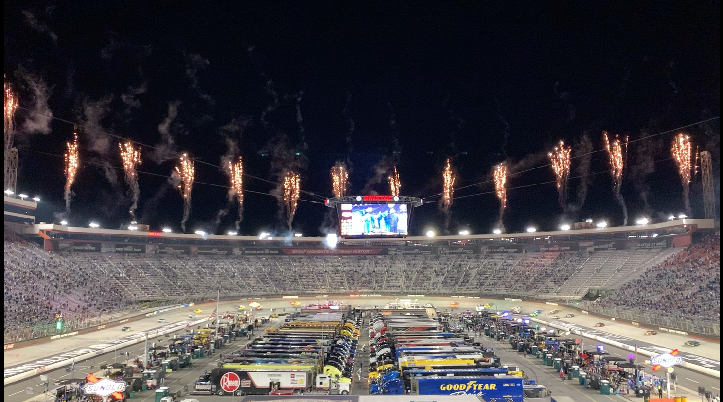 Atlanta Motor Speedway Christmas Lights 2021 Nascar All Star Race Moved From Charlotte Major Changes To 2021 Cup Series Schedule Fox 46 Charlotte