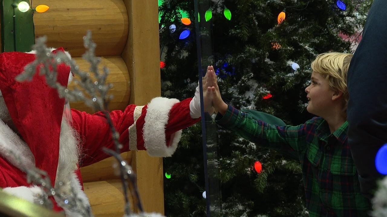 Magic Of Christmas 2020 Charlotte Nc Kids see Santa, safely, behind 'magic' shield – FOX 46 Charlotte
