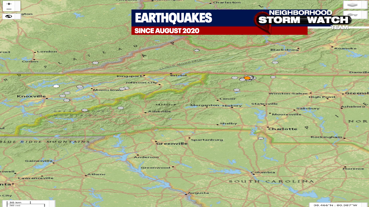Why does Sparta keep shaking? UNC Geologist explains the two new earthquakes felt overnight